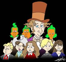 Old School Willy Wonka Cast by JayFosgitt