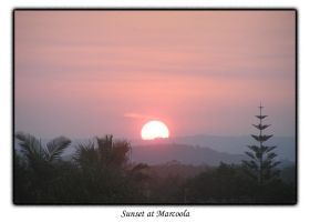 Sunset at Marcoola by Snipehunter4