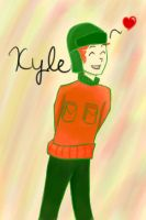 Smiling Kyle by Lovely-Link