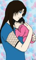 Young Mother by FlargleSnarfMuffin