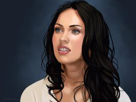 Megan Fox. by garrypfc