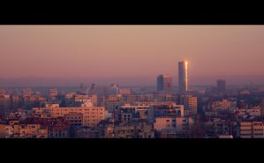 a morning in Bucharest by LordDrako