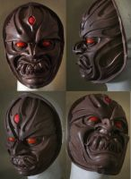 Ashura Mask complete by mostlymade