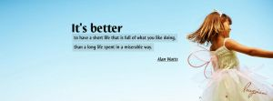 Better life FB Cover by LMA-Design