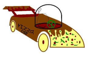 Pizza Car by Pizzaface4372