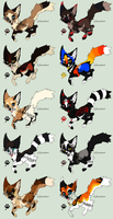 -Point adoptables 48- by Squiggy-Adoptables