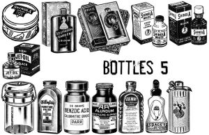 Bottles 5 by TheSarcophagusRoom