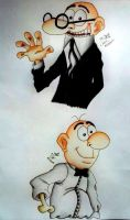 Gift - Mortadelo y Filemon - Mort and Phil by MiniAliceSuperstar