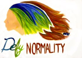 Defy Normality by MP-R