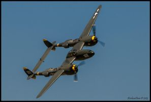 P-38 Lightning Planes of Fame by AirshowDave