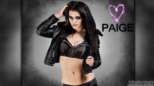 WWE: Paige GFX by TheRatedRViper1