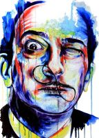 Salvador Dali by KlarEm