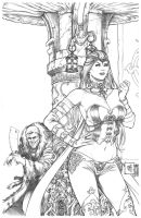 Wonderland #39 Pencils by Kromespawn