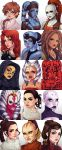 15 Women of Star Wars by CamiFortuna