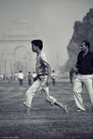 cricket (1), with india gate by dth75