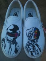 Daft Punk Vans Simple Version by Kyg0n