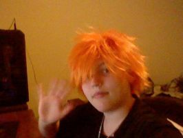 Ichigo Wig from bleach by kh297sora