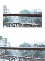 Snow in Rome by Santi90