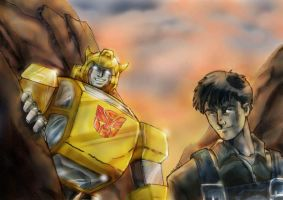 bumblebee and spike by beamer