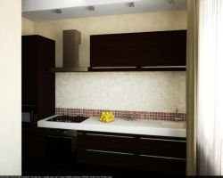 Flat. Hall and kitchen 8 by HorheSoloma