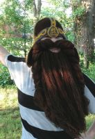 Another Gimli Helm and beard with highlights by Drgibbs