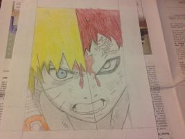 Naruto/Gaara drawing by SHOOPxDAxWHOOP