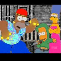 Hip Hop Simpsons by Toby244