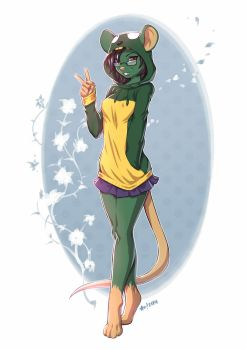 Erica by playfurry