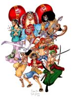 One piece : 2 years later by o0DIABLO0o