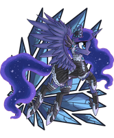 Gothic Luna by raptor007