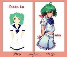 DrawItAGAIN Ranka Lee by DreamerWhit