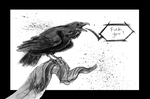Raven by Fedora-the-hat