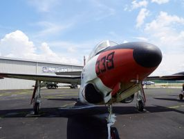 Fighter jet from the 1950s-1960s 2 by sakaphotogrfx