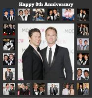 Happy 8th Anniversary to NPH and his Partner David by CTG22