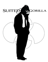 Suited Gorilla by jdarko82
