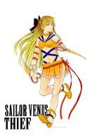 Sailor Venus Thief by AkiDead