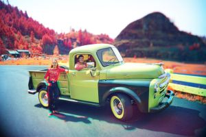 Old Truck Panochrome by NickSpiker