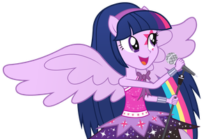 Twilight Sparkle - Equestria Girl 2 Rainbow Rocks by negasun