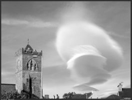 Cloud over Dingle by SmirkingMan