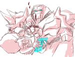.:Megatronus and Orion Pax:. by JACKSPICERCHASE