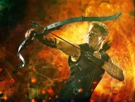 Hawkeye by bubblenubbins