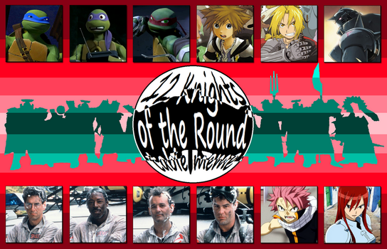 My Knights of the Round Table by 4xEyes1987
