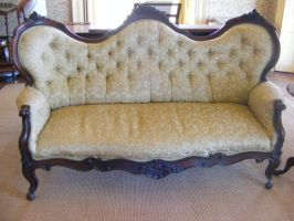 Old Fancy Chair - Lounge by Gracies-Stock