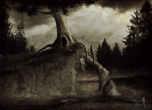 The old tree by Silvana-Massa-Art