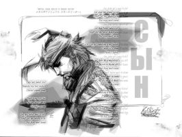 SON +snake eater fanart wall+ by Kuse