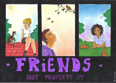CE: Friends - not property! by MTToto
