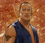 WWE- The Rock by Dr-Salvador