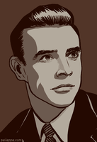 Sean Connery by peileppe