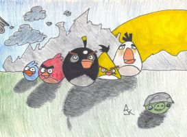 Angry Birds by JohnnyZim777