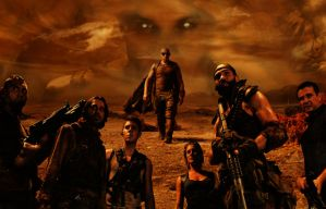 RIDDICK RULE THE DARK by nealbing